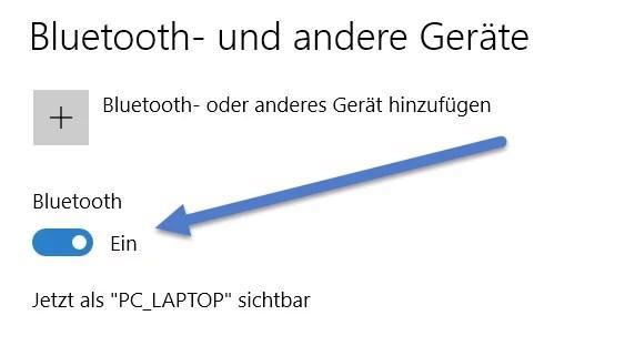 Bluetooth Windows 10