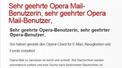 Photo of Opera Mail Client