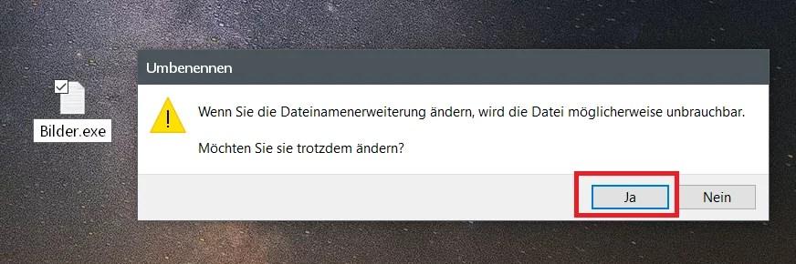 Windows 10 Ordner an die Taskleiste anheften 3