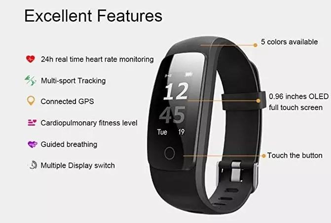 Voberry Fitness Tracker