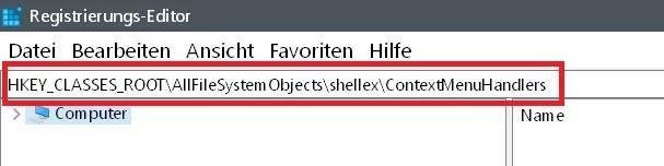 Windows 10 Ordner kopieren/verschieben im Kontextmenü 4