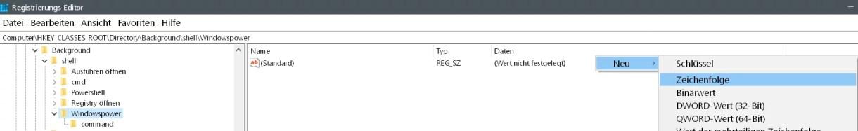 Windows 10 beliebige Webseite aus dem Desktop Kontextmenü starten 11