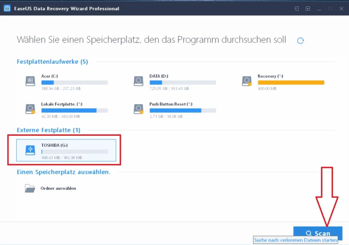 EaseUS Data Recovery Wizard 12.6 ausprobiert – Wir verlosen 5 Lizenzen 5
