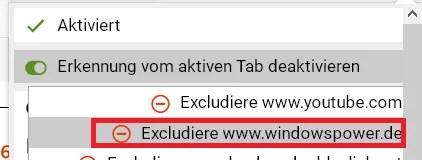 Firefox die Tab Erkennung deaktivieren 8