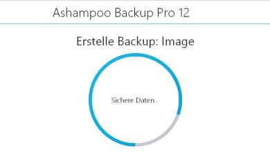 Photo of Ashampoo Backup Pro 12 Datensicherung – mein erster Eindruck