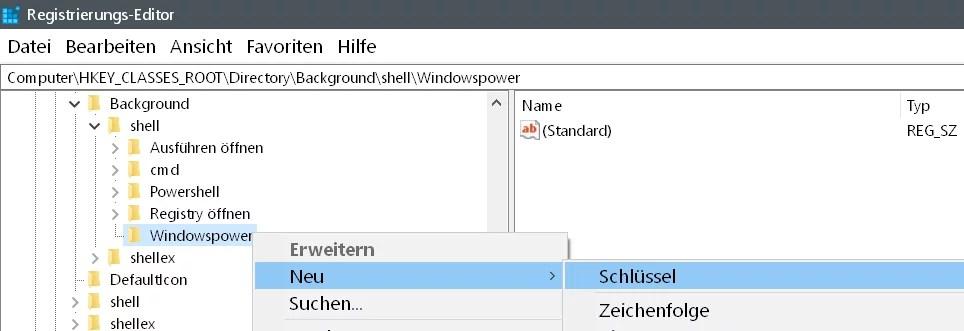 Windows 10 beliebige Webseite aus dem Desktop Kontextmenü starten 7