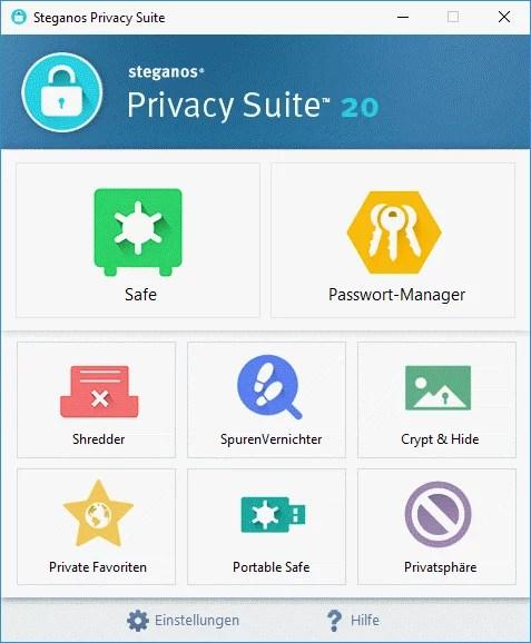 Steganos Privacy Suite 20