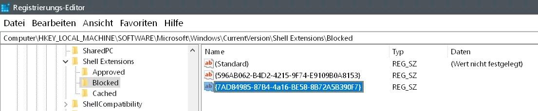 Wiedergabe auf Gerät entfernen Windows 10 7
