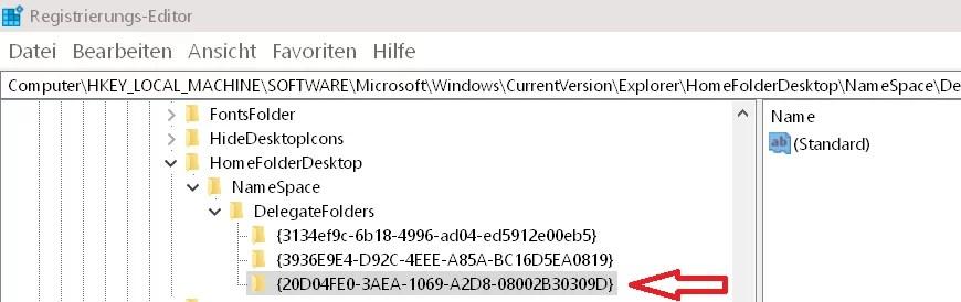Laufwerke im Schnellzugriff anzeigen Windows 10 8