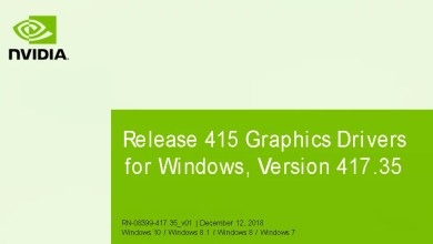 Nvidia-GeForce-Treiber Version 417.35 für Windows erschienen 0