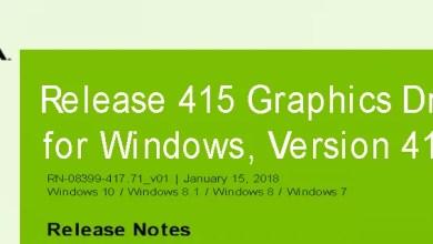 Photo of Nvidia-GeForce-Treiber Version 417.71 für Windows erschienen