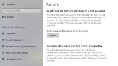 Photo of Zugriff für Webcam & Mikrofon einstellen Windows 10