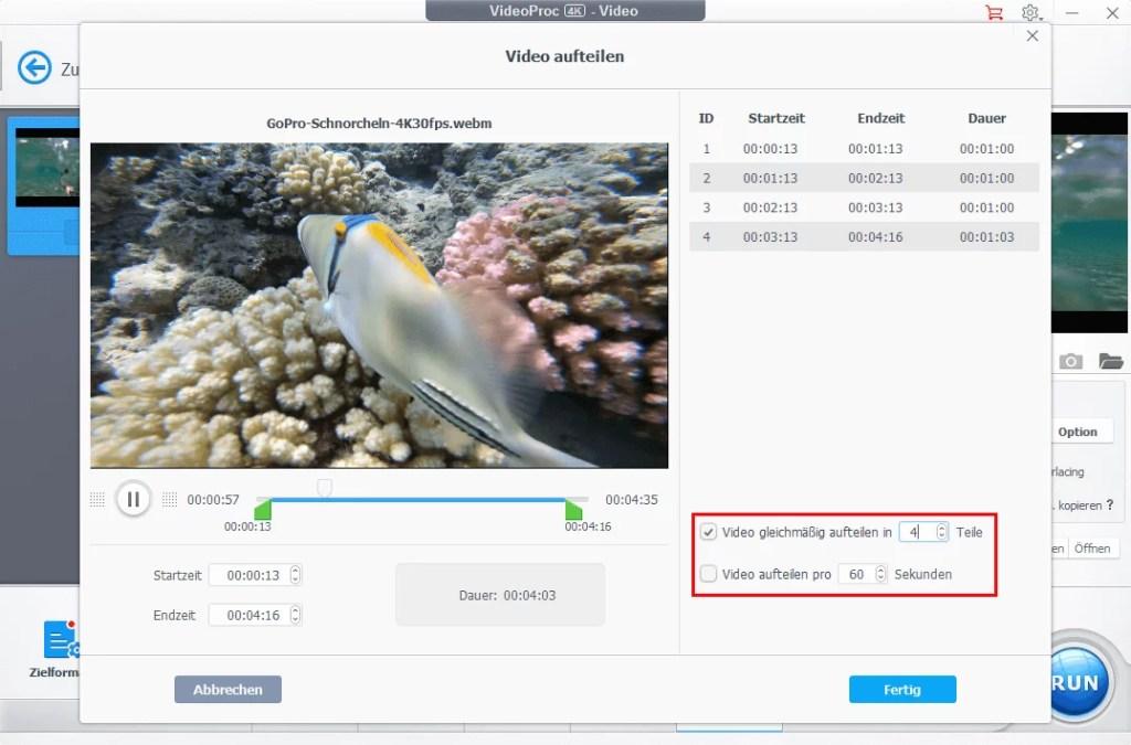 Mit VideoProc 4K Videos bearbeiten und umwandeln – so einfach & umfassend wie noch nie 2