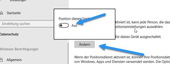 positionsermittlung