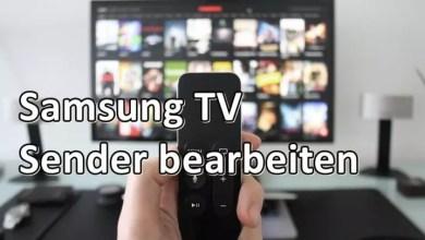 Samsung TV 2017/18 Sender sortieren 0