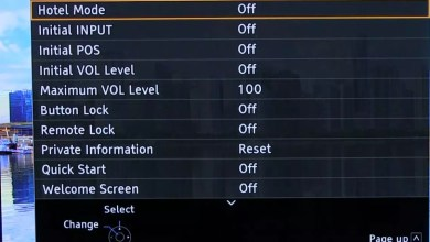 Panasonic TV Hotel Mode aktivieren 0