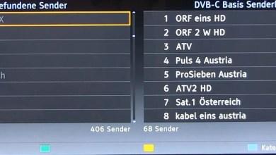 Panasonic TV Sender sortieren 0