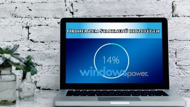 Ordner zum Starmenü hinzufügen Windows 10 0