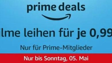 Amazon Prime Deals: Filme für 0,99€ leihen 0