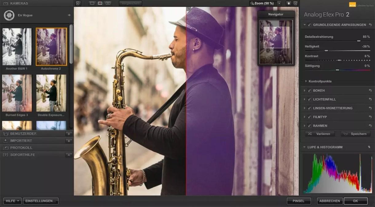 Nik Collection 2 – Bildbearbeitungsoftware der Extraklasse 4