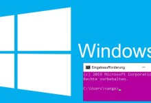 Windows 10: Hintergrundfarbe der Eingabeaufforderung ändern 0