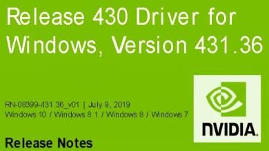 Nvidia-GeForce-Treiber Version 431.36 für Windows erschienen 0