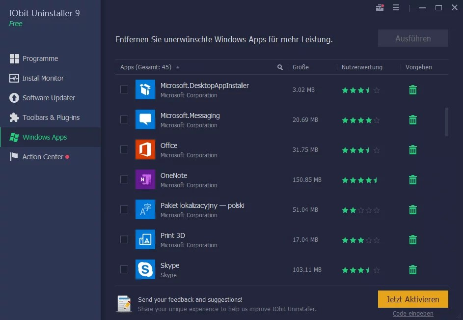 7. windows apps