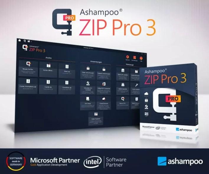 scr ashampoo zip pro 3 presentation