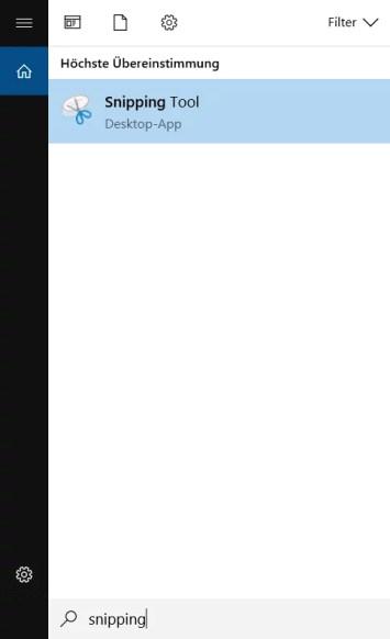 Windowspowerde snipping tool screenshot