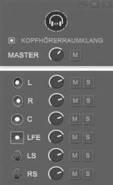 lautstaerke mixer