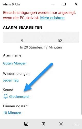 alarm ton sound