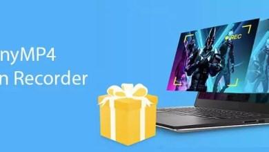 Photo of Neujahrsgeschenk: Jetzt kostenlosen Lizenzcode für AnyMP4 Screen Recorder sichern