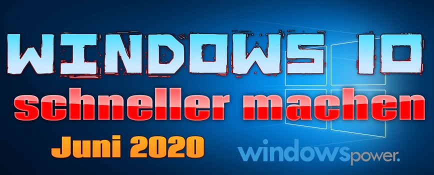 Photo of Windows 10 schneller machen – Turbo zünden