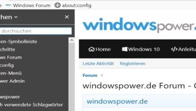 Photo of Firefox – Sidebar dunkler Hintergrund