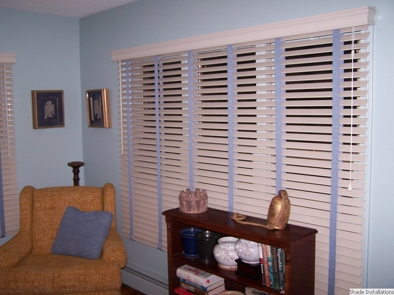 Boston Shade Installations Wooden Blinds Window Treatments