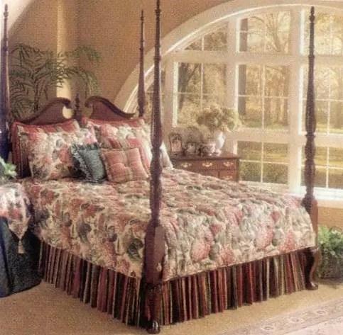 Custom Bedding Ensembles  Exton PA  N J Rose Decorating