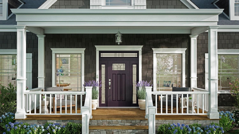 fiberglass entry doors smooth
