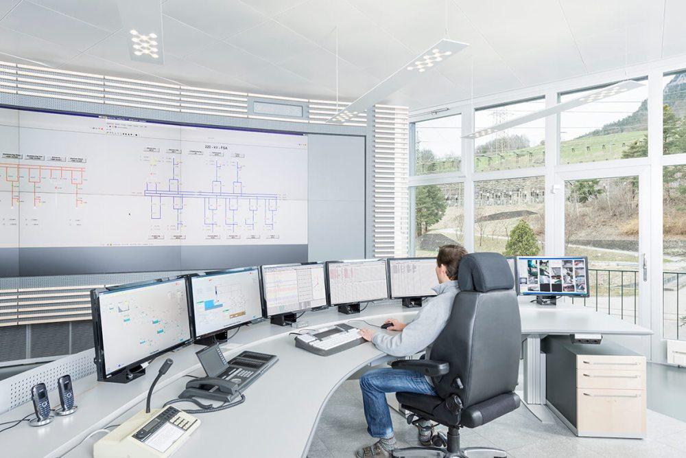 medium resolution of digital substation control center