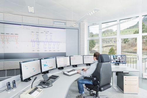 small resolution of digital substation control center