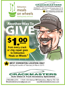 Edmonton Windshield repair