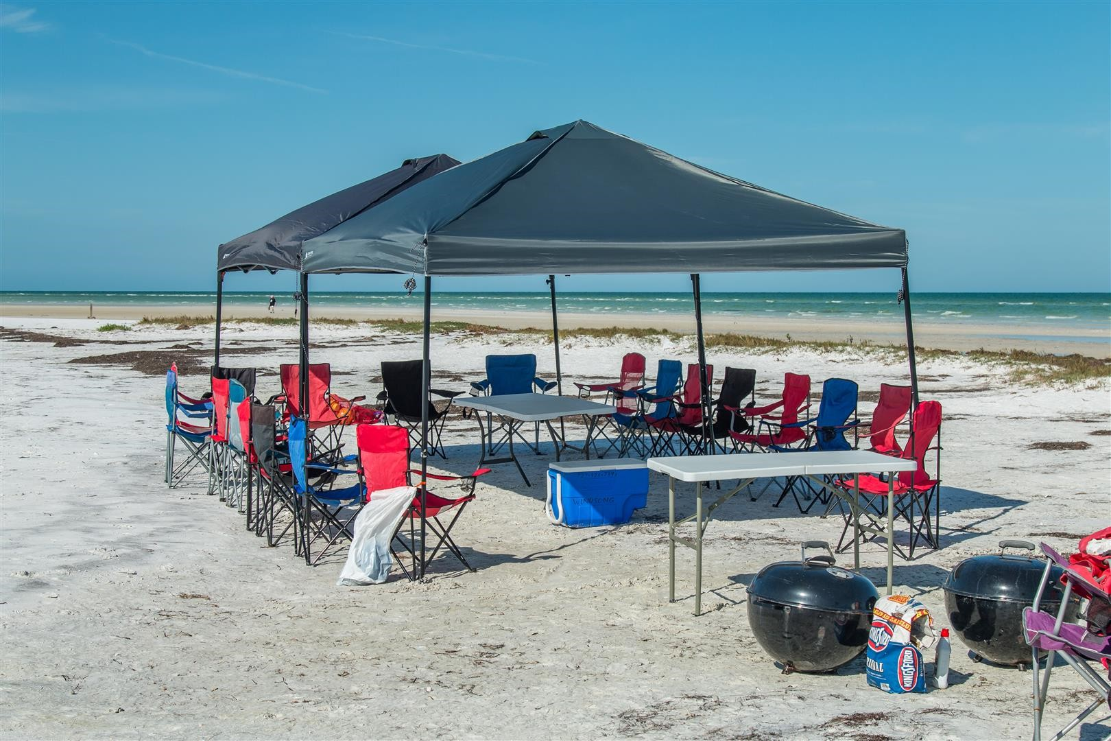 fishing chair box ergonomic grainger beach bbq tampa   party florida island cook out