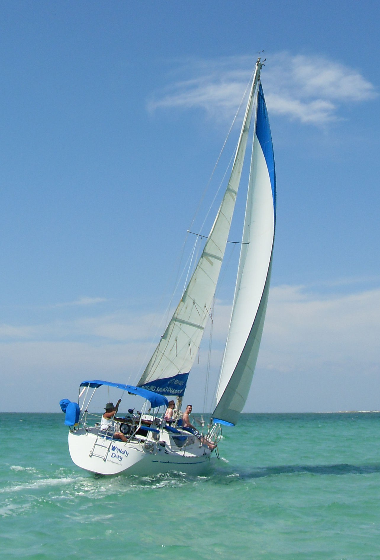 Windsong Sailing Charters  Jeanneau Espace 34 sailboat
