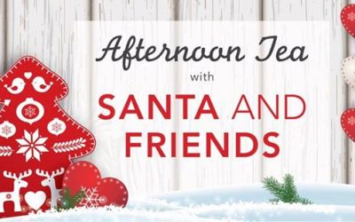 Afternoon Tea with Santa – 17th December