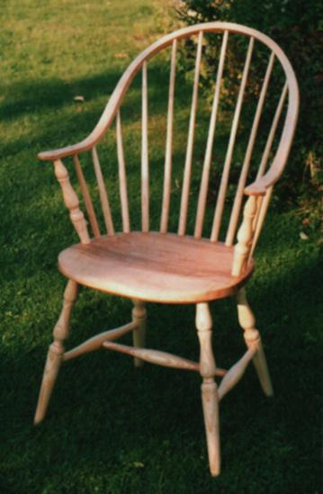windsor chair with arms collapsible beach bag continuous arm chairs american style