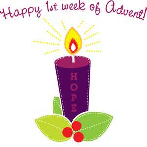 Happy first week of Advent
