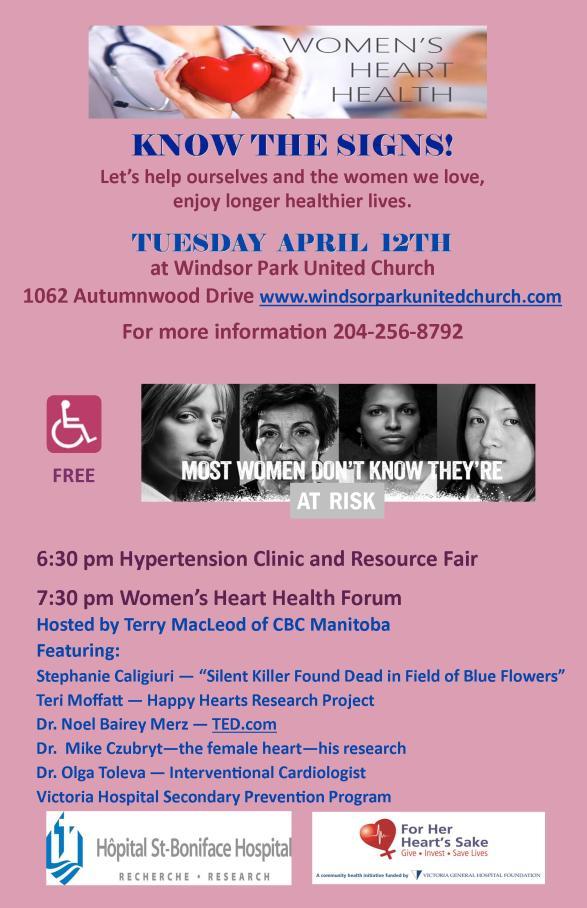 Women's Heart Health 2016