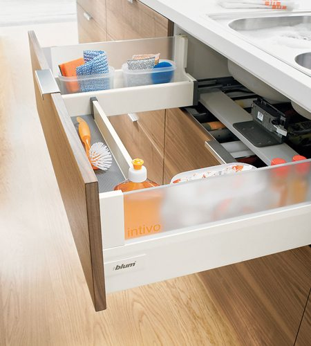 kitchen drawer hardware green rugs blum cabinet and windsor plywood