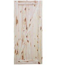Interior Rustic Knotty Pine Barn Door Windsor Plywood