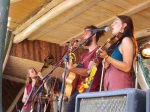 auf der Turisedischen Einsiedel-Bühne des Rudolstadt Festivals 2016