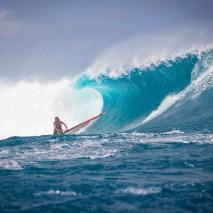 Windsurfing Tahiti 2012